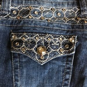 Rue21 jeweled jeans